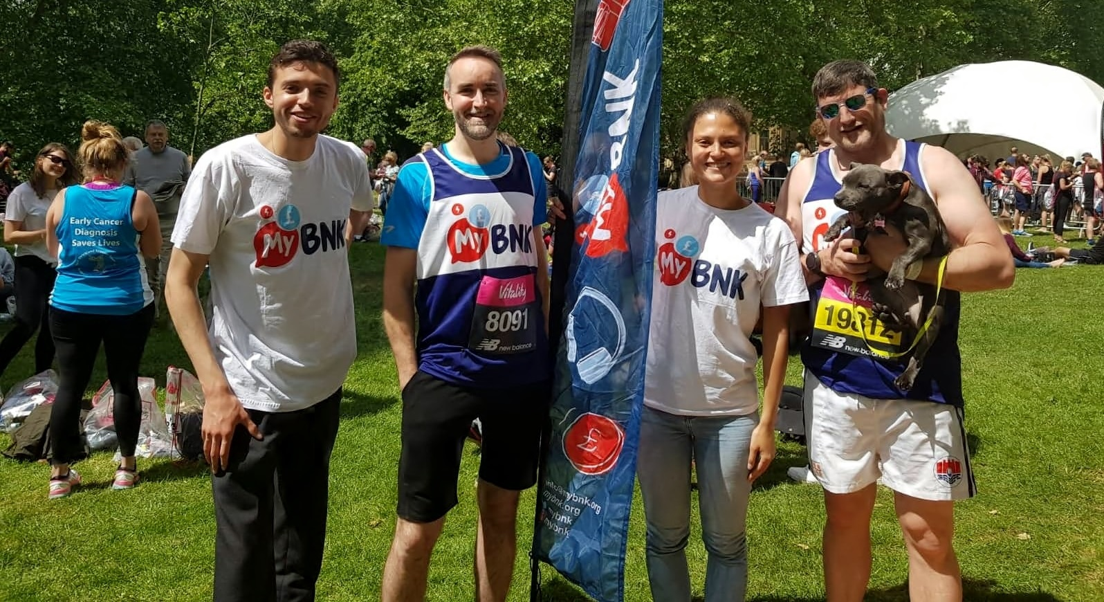 Runners raise vital funds for young people